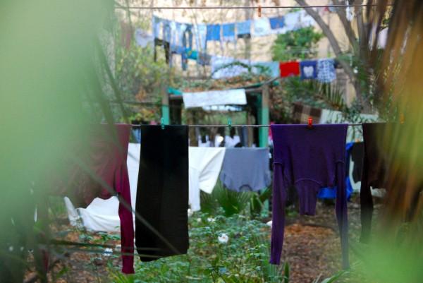 ropa secandose
