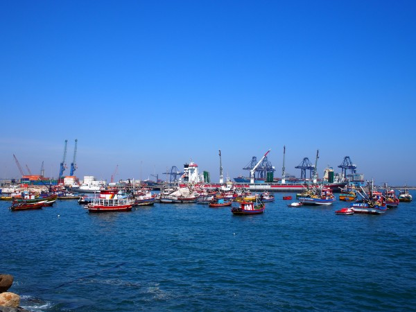 view of the harbor