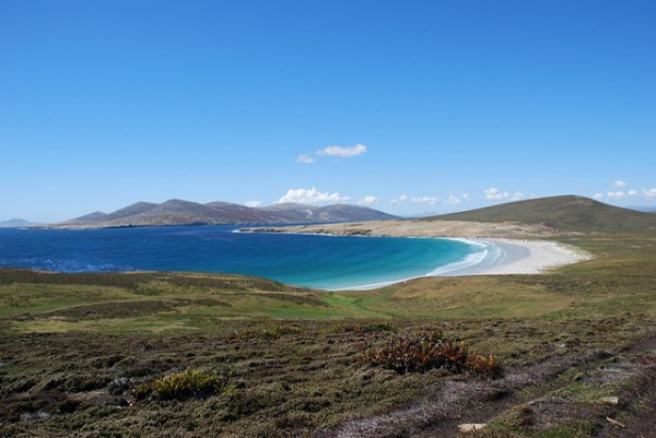 falklands beach